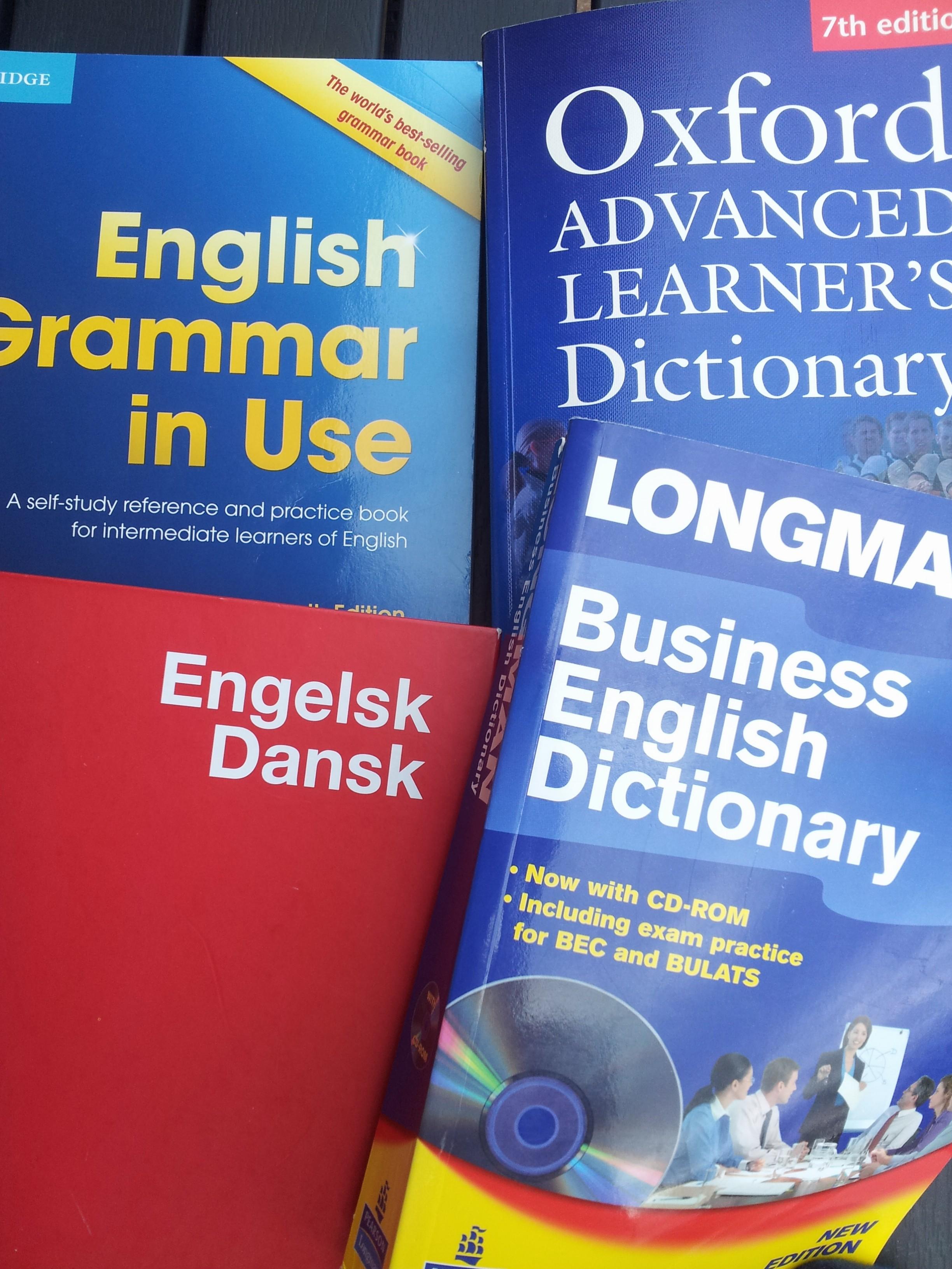 tak for sidst engelsk